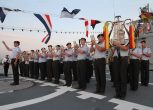 Deutsche Marine - German Navy ceremony.